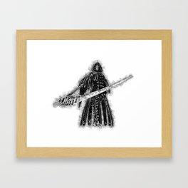 Grim Reaper - Halloween Framed Art Print