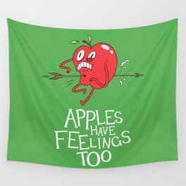 Apple Shot Wall Tapestry