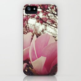 Wild Heart Pink iPhone Case