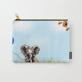 Balloon, Bee and Me Carry-All Pouch