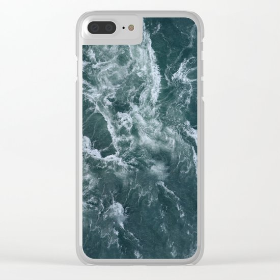 Our Ocean Clear iPhone Case