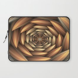 Fractal Buds Tunnel Laptop Sleeve