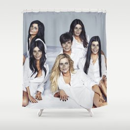 Helldashians Shower Curtain