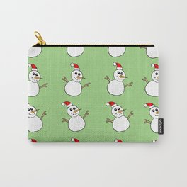 Xmas Snowman Carry-All Pouch