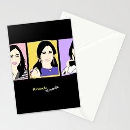 Knock Knock! Mina Version Stationery Cards