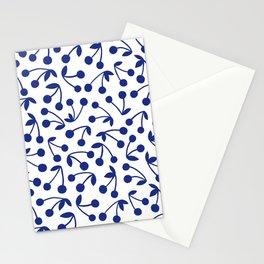 Cerise, Blue Stationery Cards