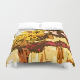 Pick A Posie Duvet Cover
