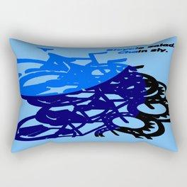 BICYCLE SALAD. Rectangular Pillow