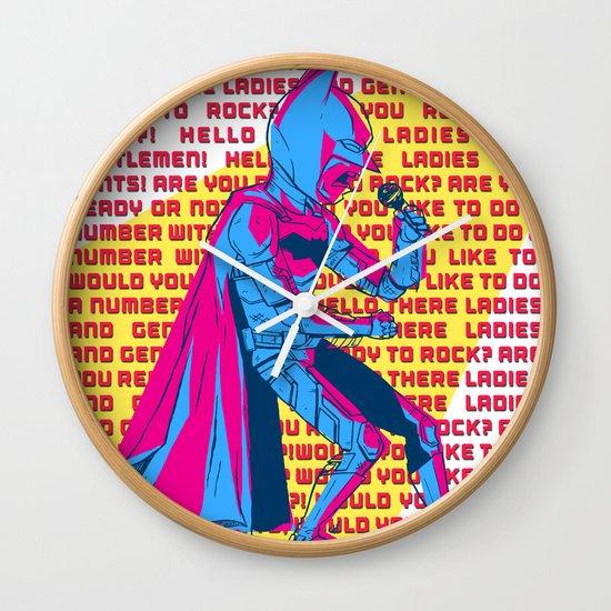 The Dark Knight Rocks (Text Version) Wall Clock