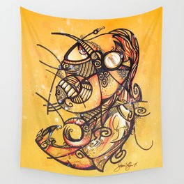 The Lawyer by Steve Fogle Wall Tapestry