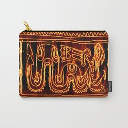 Antik motif with fire Carry-All Pouch