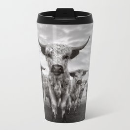 Highland Cattle Mixed Breed Mono Travel Mug