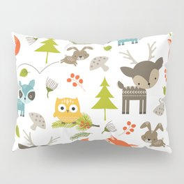 Woodland Animals Pillow Sham