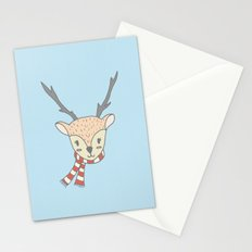 CUTE HOLIDAY REINDEER Stationery Cards