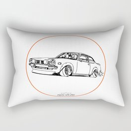 Crazy Car Art 0190 Rectangular Pillow
