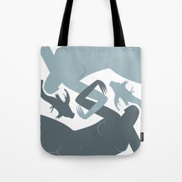 Pisces (Feb 18 - Mar 20) Tote Bag
