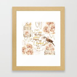 Jane Eyre - Dignified Framed Art Print