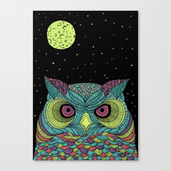 The Mystique Owl Canvas Print