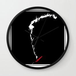 """Mark """"Bomber"""" Thompson Wall Clock"""