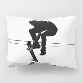 Flying High Skateboarder Pillow Sham