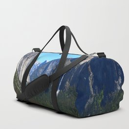 Bridal Veil Falls From Tunnel View Point - Yosemite Valley Duffle Bag