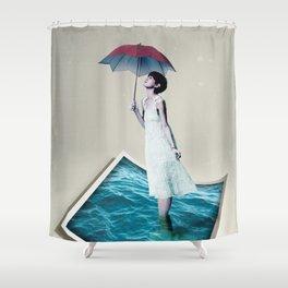 Ocean of Dreams II Shower Curtain