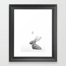Rabbit 8 Framed Art Print