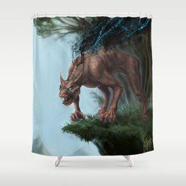 Nano-Beast Shower Curtain