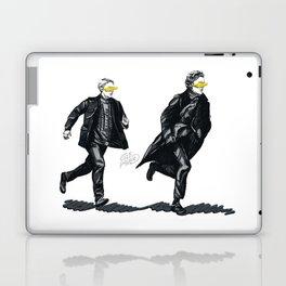 Swift Run (Sherlock and John) Laptop & iPad Skin