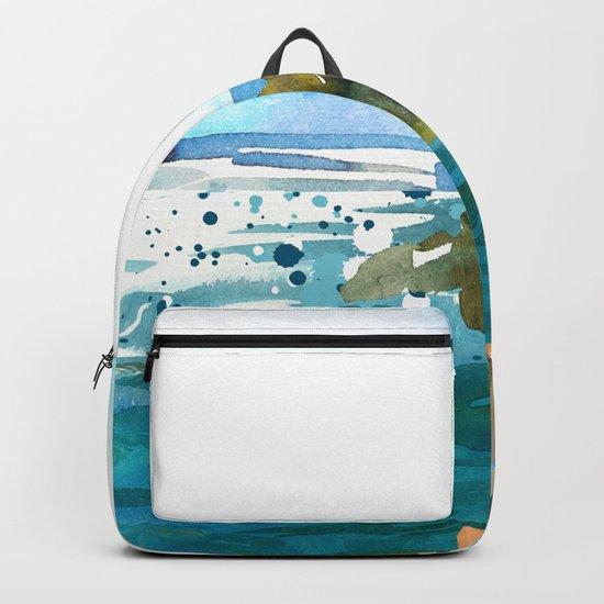 Seascape #3 Backpack