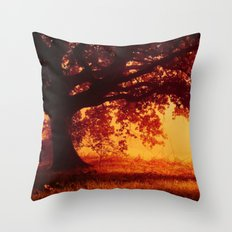 So lost in our little worlds Throw Pillow