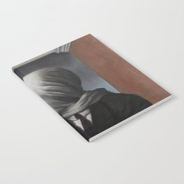 The Lovers II (Les Amants) 1928, Artwork Rene Magritte For Prints, Posters, Shirts, Bags Men Women K Notebook