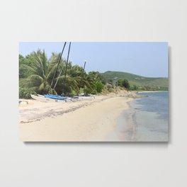 Beachside Metal Print