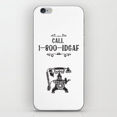 1-800-IDGAF iPhone & iPod Skin