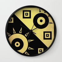 sunshine Wall Clocks featuring sunshine by simay