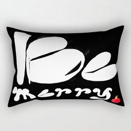 BE MERRY Rectangular Pillow