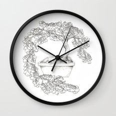 Ginkgo Tree Wall Clock