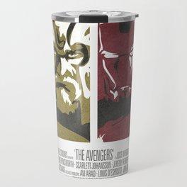 Vintage Avengers Film Poster Travel Mug