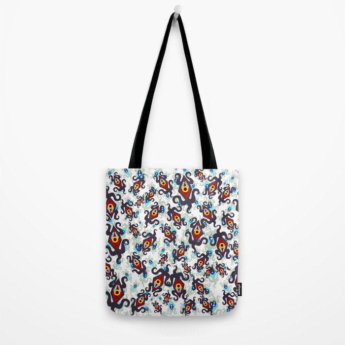 Nightmares - Danger eyes Tote Bag