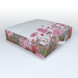 Flower photography by MIO ITO Outdoor Floor Cushion