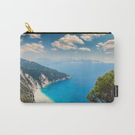 The famous beach Myrtos in Kefalonia island, Greece Carry-All Pouch