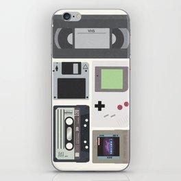 1980's stuff iPhone Skin