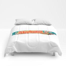 Starburst Candy Comforters