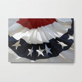 Flag Swag Metal Print