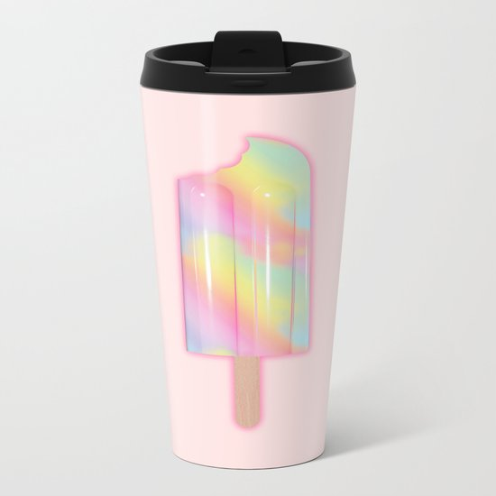Unicorn Popsicle Metal Travel Mug