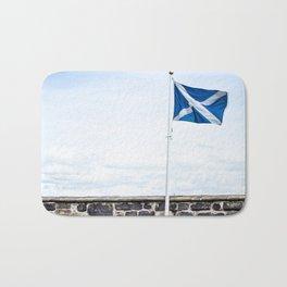 Scottish Flag (Print) Bath Mat