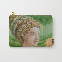 """Portrait in the forest"" (notebook) Carry-All Pouch"