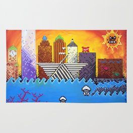 8 Bit Milwaukee Rug