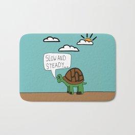 turtle poster Bath Mat