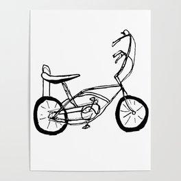 Schwinn Stingray Bicycle Poster